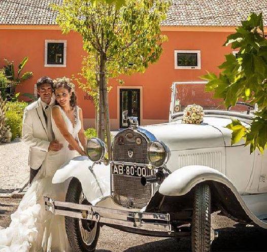 Antique Car for wedding in Lisbon