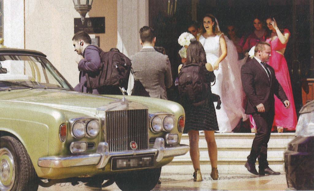Convertible car for Wedding in Lisbon