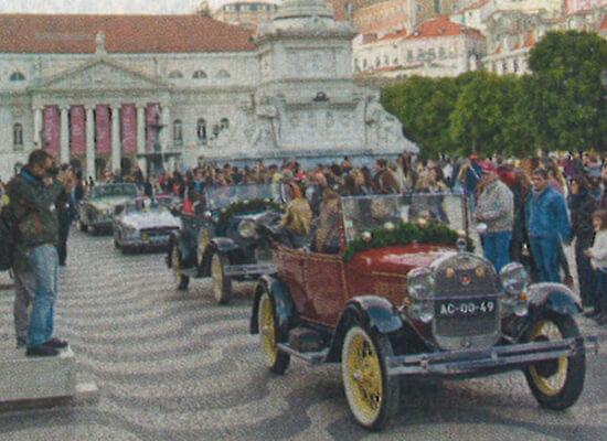 Carros para passeios turísticos em Lisboa