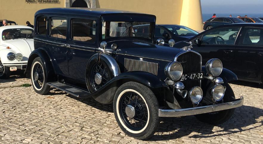 Carro clássico para casamento em Lisboa
