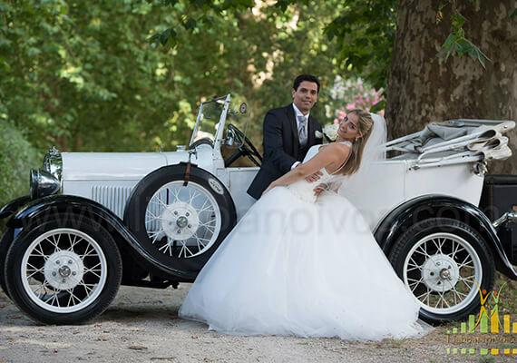 Vintage Car for wedding in Lisbon