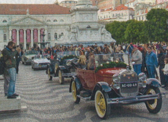 Cars for sightseeing tours in Lisbon