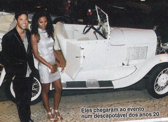 Carro para eventos VIP e turismo em Lisboa