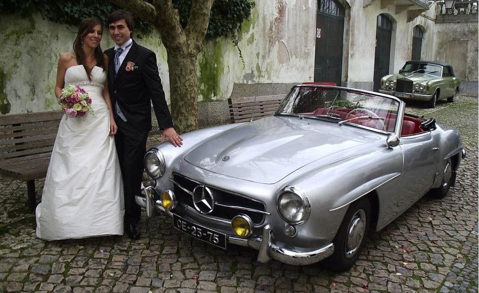Classic Car for wedding in Lisbon
